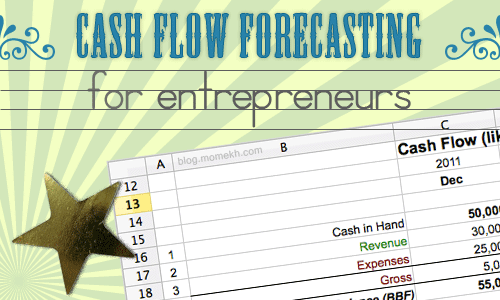 cash flow forecasting for entrepreneurs