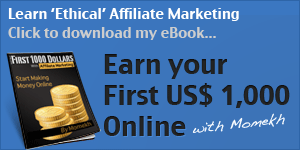 Earn 1000 dollars with affiliate marketing - the ebook
