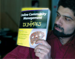 Online Community Management for Dummies book