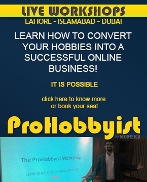 ProHobbyist Workshop by Momekh Earn money from Hobbies